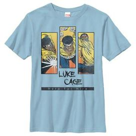 Luke Cage Triple Hero Youth T-Shirt