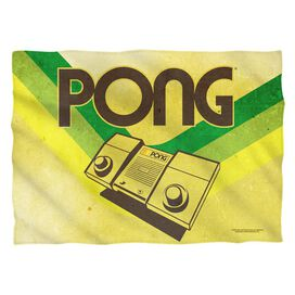 Atari Pong Lines (Front Back Print) Pillow Case