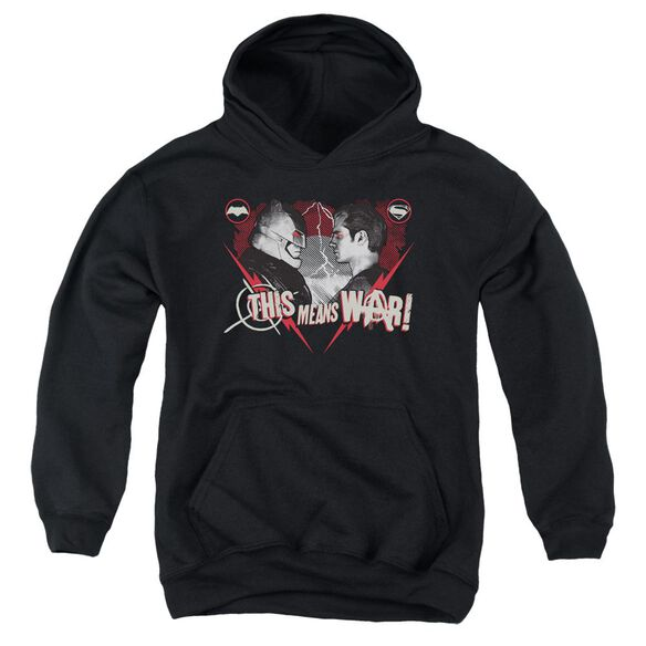 Batman V Superman This Means War Youth Pull Over Hoodie