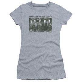 Arrow Not Guilty Short Sleeve Junior Sheer Athletic T-Shirt