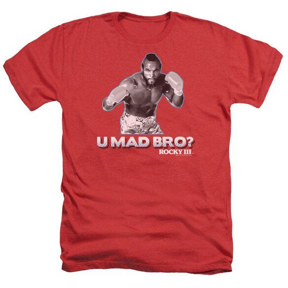 Rocky Iii U Mad Bro Adult Heather