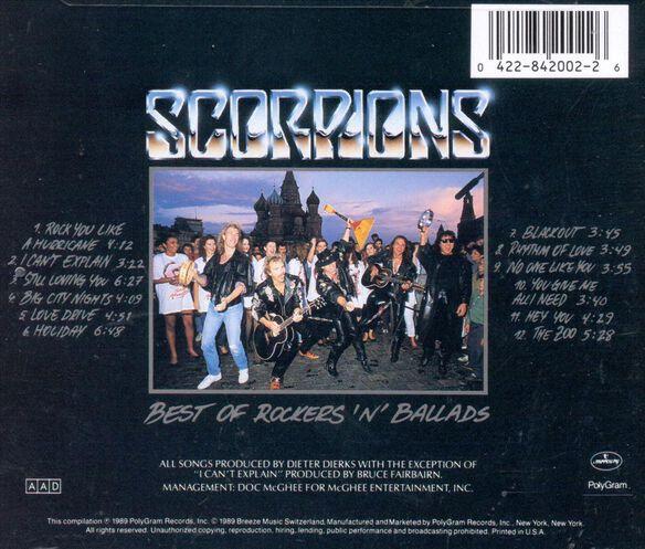 Rockers N Ballads Bes1190