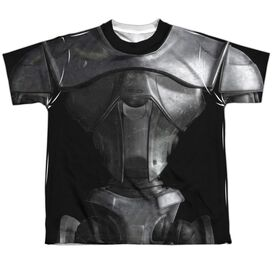 Bsg (New) New Cylon Short Sleeve Youth Poly Crew T-Shirt