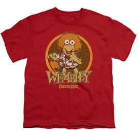 Fraggle Rock Wembley Circle Short Sleeve Youth T-Shirt