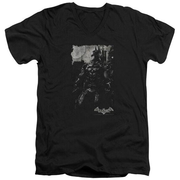 Batman Arkham Knight Bat Brood Short Sleeve Adult V Neck T-Shirt