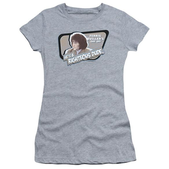Ferris Bueller Grace Short Sleeve Junior Sheer Athletic T-Shirt
