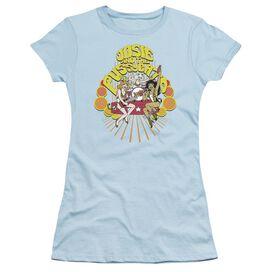 Archie Comics Groovy Rock & Roll Short Sleeve Junior Sheer Light T-Shirt