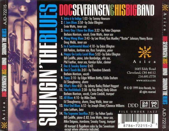 Swingin' The Blues 0899