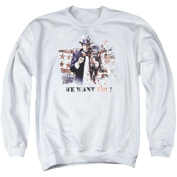 Arkham City We Want You Adult Crewneck Sweatshirt