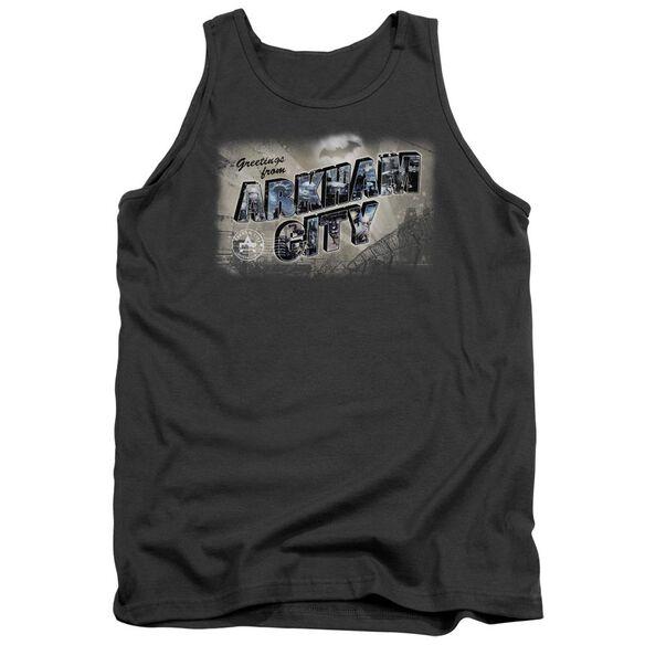 Arkham City Greetings From Arkham Adult Tank