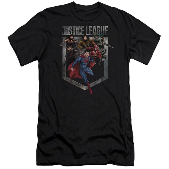 Justice League Movie Charge Hbo Short Sleeve Adult T-Shirt