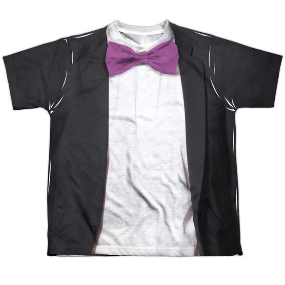 Batman Classic Tv Penguin Uniform Short Sleeve Youth Poly Crew T-Shirt