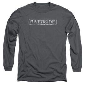 Riverside Riverside Distressed Long Sleeve Adult T-Shirt