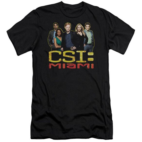 Csi Miami The Cast In Premuim Canvas Adult Slim Fit