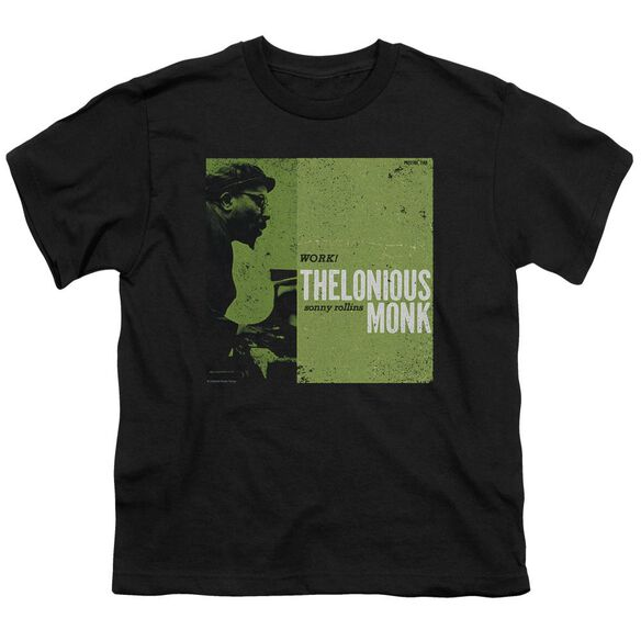 Thelonious Monk Work Short Sleeve Youth T-Shirt