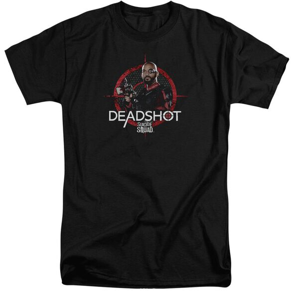 Suicide Squad Deadshot Target Short Sleeve Adult Tall T-Shirt