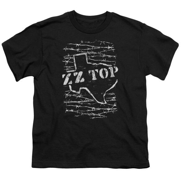 Zz Top Barbed Short Sleeve Youth T-Shirt