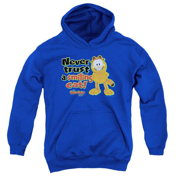 Garfield Smiling Youth Pull Over Hoodie