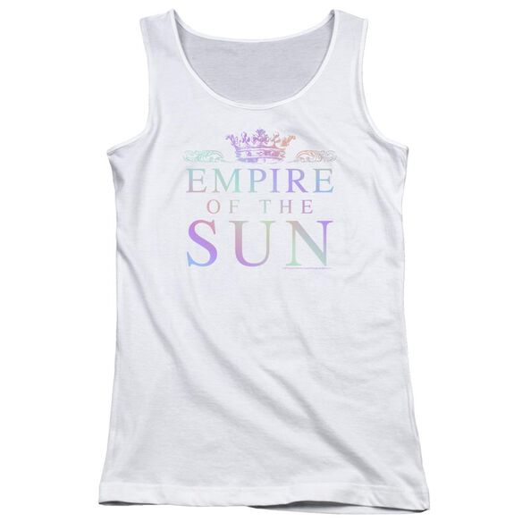 Empire Of The Sun Rainbow Logo Juniors Tank Top