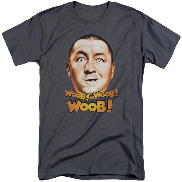 Three Stooges Woob Woob Woob Short Sleeve Adult Tall T-Shirt
