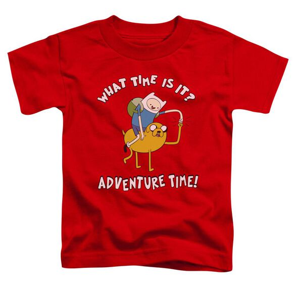 Adventure Time Ride Bump Short Sleeve Toddler Tee Red T-Shirt
