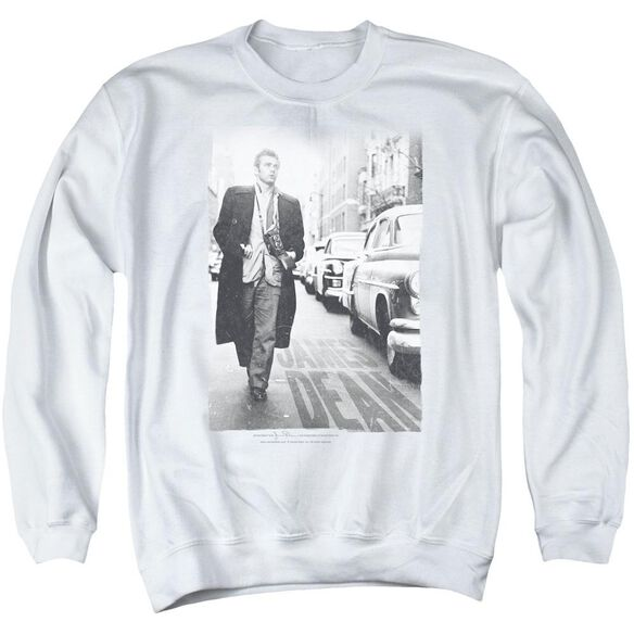 Dean On The Street Adult Crewneck Sweatshirt