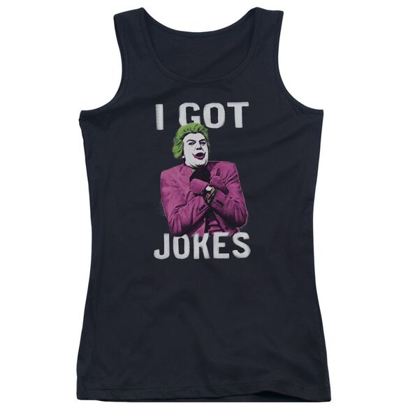 Batman Classic Tv Got Jokes Juniors Tank Top