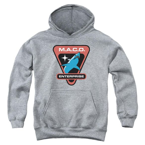 Star Trek Maco Patch Youth Pull Over Hoodie Athletic