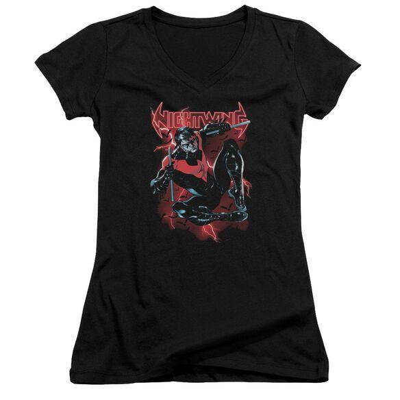 Batman Lightwing Junior V Neck T-Shirt