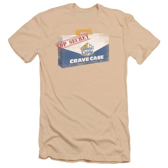 White Castle Crave Case Premuim Canvas Adult Slim Fit