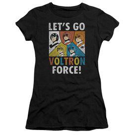 Voltron Force Short Sleeve Junior Sheer T-Shirt