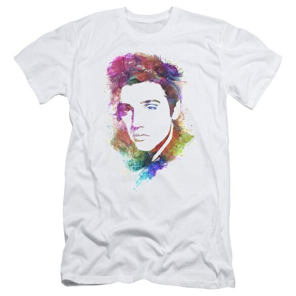 Elvis Watercolor King Short Sleeve Adult T-Shirt
