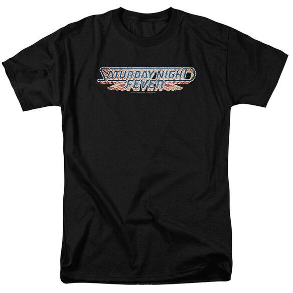 Saturday Night Fever Logo Short Sleeve Adult T-Shirt