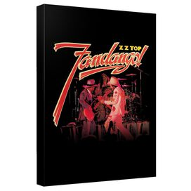 Zz Top Fandango Cover Art Canvas Wall Art With Back Board