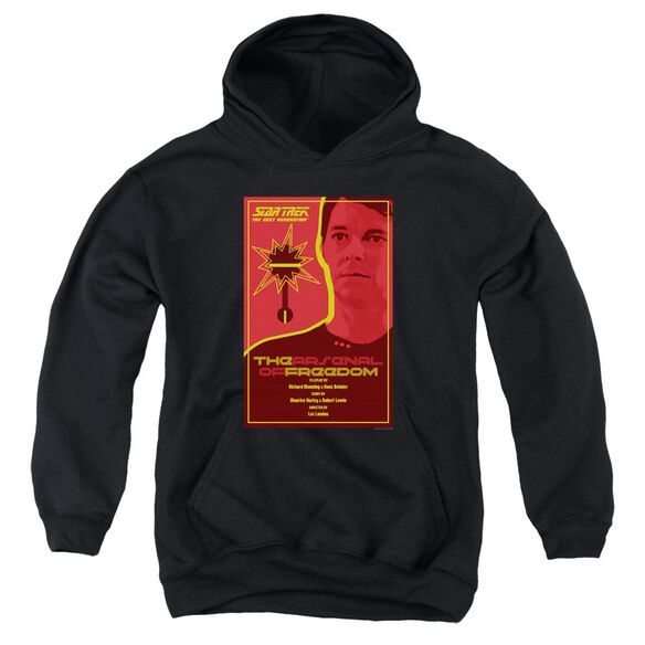 Star Trek Tng Season 1 Episode 21 Youth Pull Over Hoodie