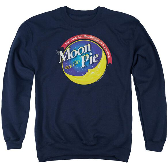 Moon Pie Current Logo Adult Crewneck Sweatshirt