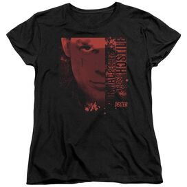 DEXTER NORMAL - S/S WOMENS TEE - BLACK T-Shirt