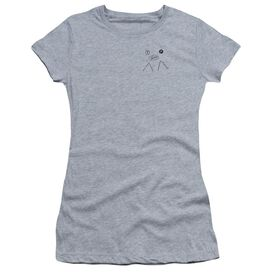 Twin Peaks Peak Pie Short Sleeve Junior Sheer Athletic T-Shirt