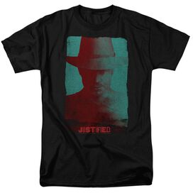 Justified Silhouette Short Sleeve Adult T-Shirt