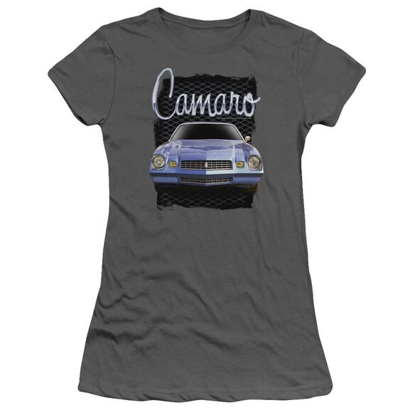 Chevrolet Yellow Camaro Short Sleeve Junior Sheer T-Shirt