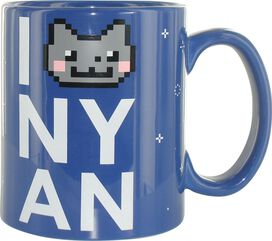 Nyan Cat Love Jumbo Mug