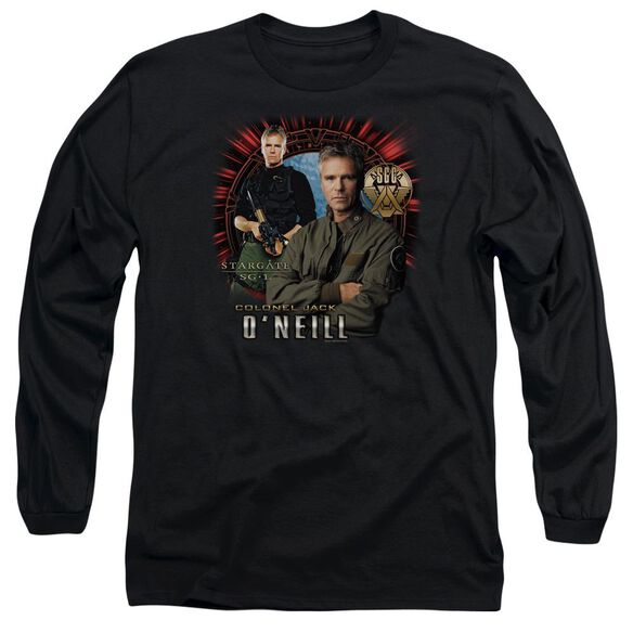 Sg1 Jack Oneill Long Sleeve Adult T-Shirt