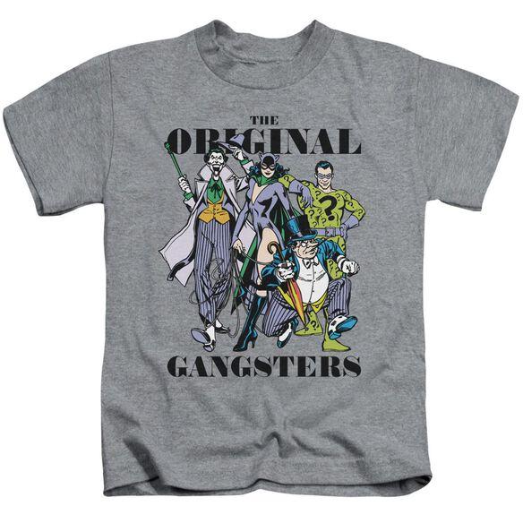Dc Original Gangsters Short Sleeve Juvenile Athletic T-Shirt