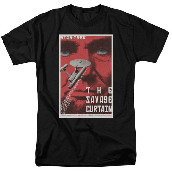 Star Trek Tos Episode 77 Short Sleeve Adult Black T-Shirt