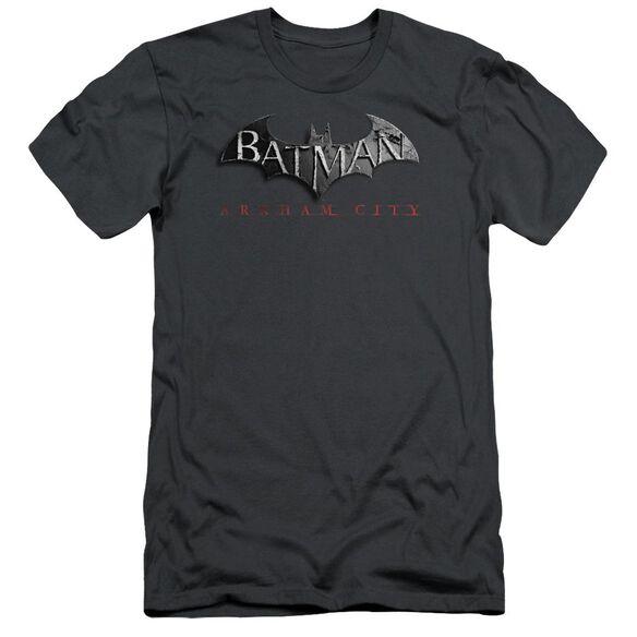 Arkham City Logo Short Sleeve Adult T-Shirt