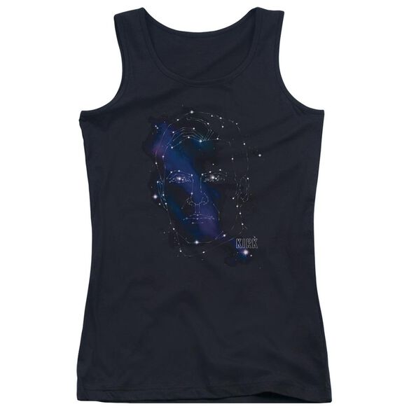 Star Trek Kirk Constellations Juniors Tank Top
