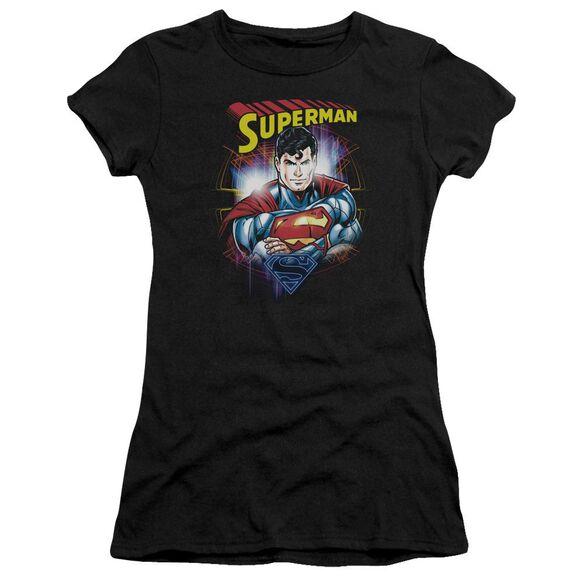 Superman Glam Premium Bella Junior Sheer Jersey