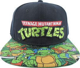 Ninja Turtles Logo Sublimated Bill Hat