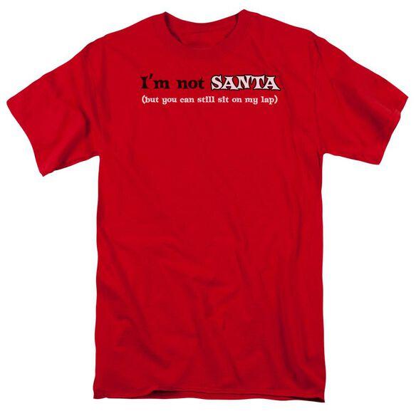 Im Not Santa Short Sleeve Adult T-Shirt