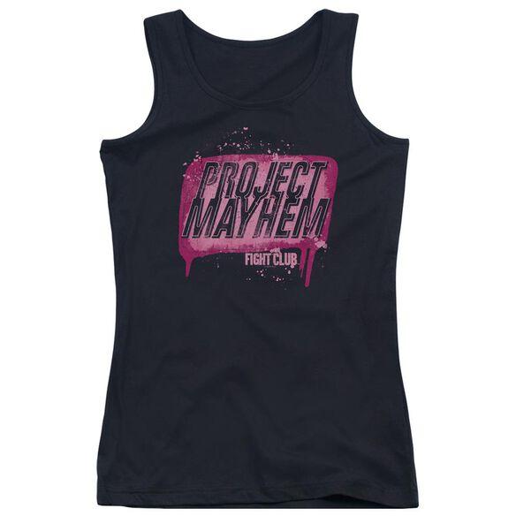 Fight Club Project Mayhem Juniors Tank Top